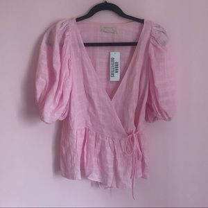 Urban Outfitters Romantic Milkmaid Blouse